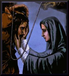 Jesus meets His Mother001