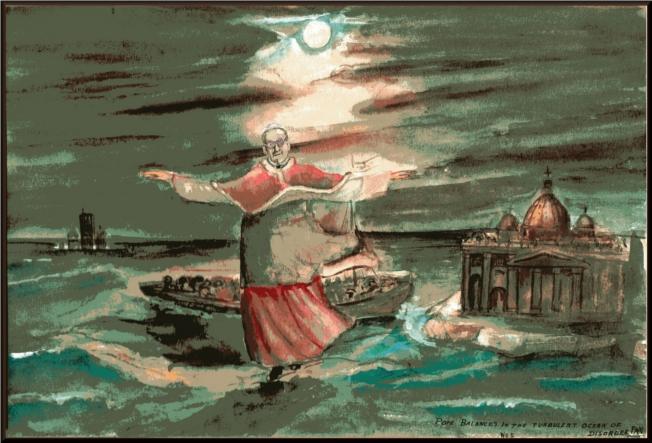 Pope Francis turbulent Church3