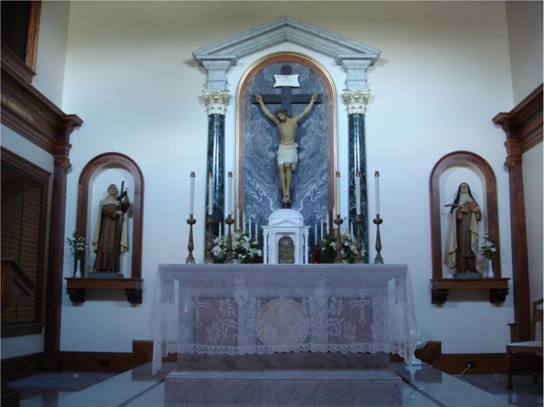 Carmelitmonastery altarJPG