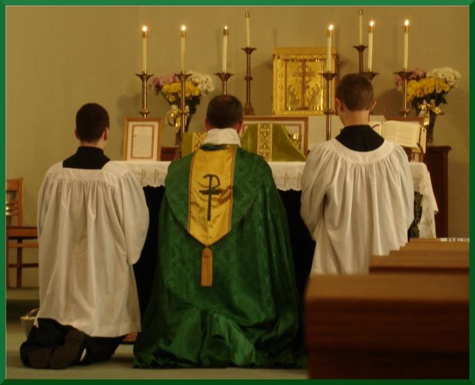 First Sunday TLM - August 11, 2013 - St. Joseph, Rockdale, IL  Fr. Joseph Valentine, FSSP
