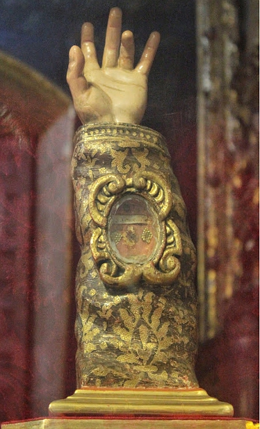 relic_arm Mexican Metropolitan Cathedral