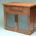 Red Oak Media Cabinet