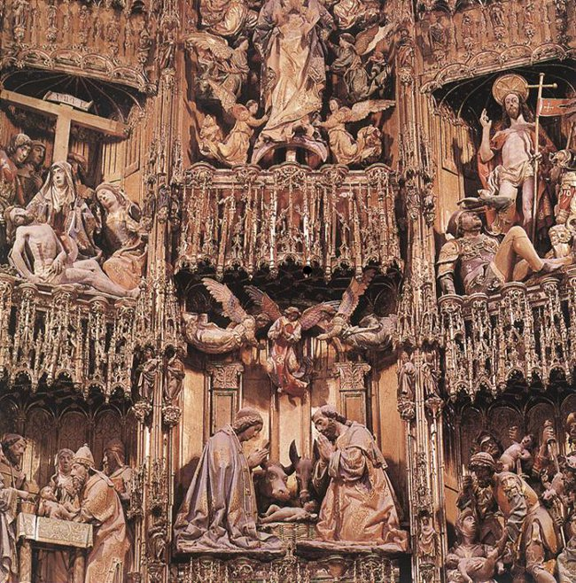 Toledo cathedral high altar
