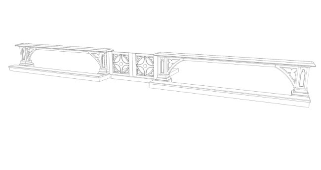 Preview of altar rail coloring page