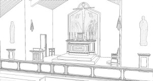 Preview of sanctuary coloring page