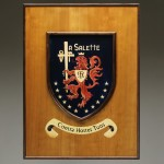Image of crest and frame