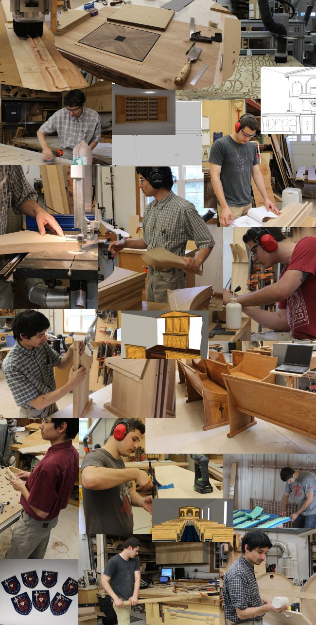 Building Chapel Furniture and Religious Art in 2013