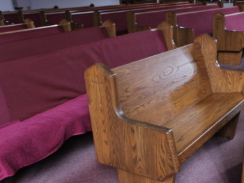 If Aladdin Were a Woodworker… Old Church Pews Become New Church Pews