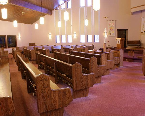 Pew Retrofit For Indiana Church