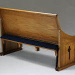 Pew for two adults or three children