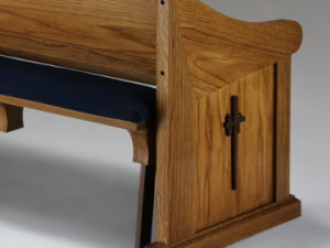 Take a look at these custom made pews