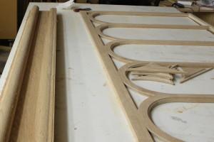 CNC cut altar components