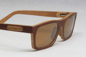 Sunglasses made from wood